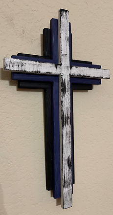 Black Blue White Stacked Cross 8Wx14H.JP