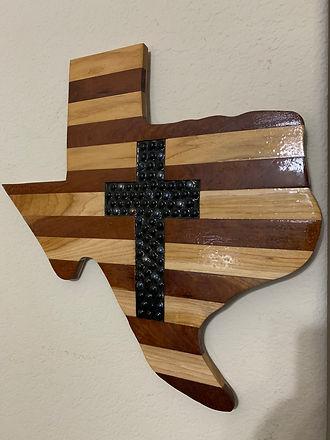 Texas Cutout with Marble Cross 21x21.JPG