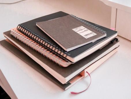 Cuadernos que toda escritora o escritor necesita.