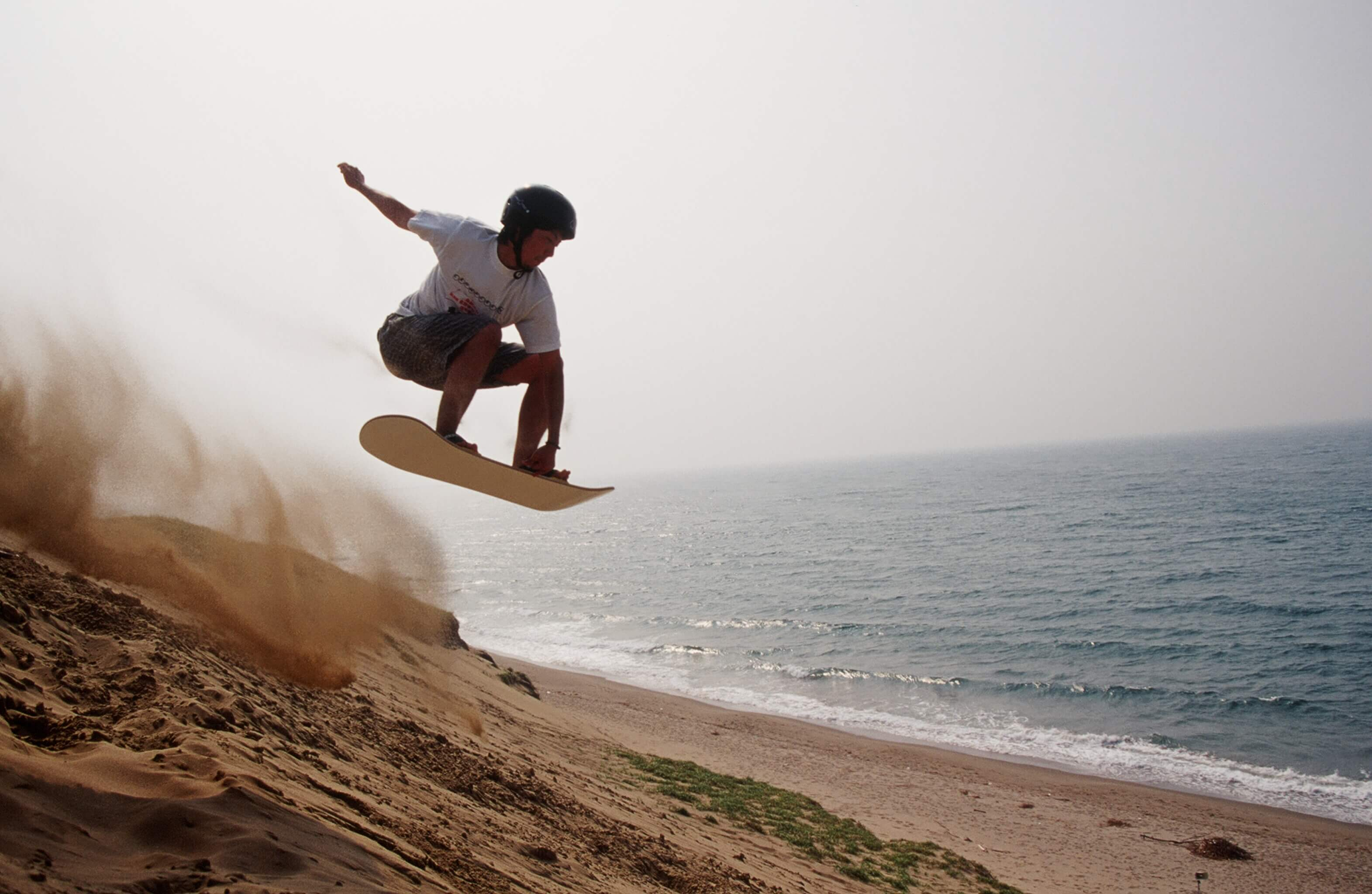 青春にジャンプ、サンドボード.jpg