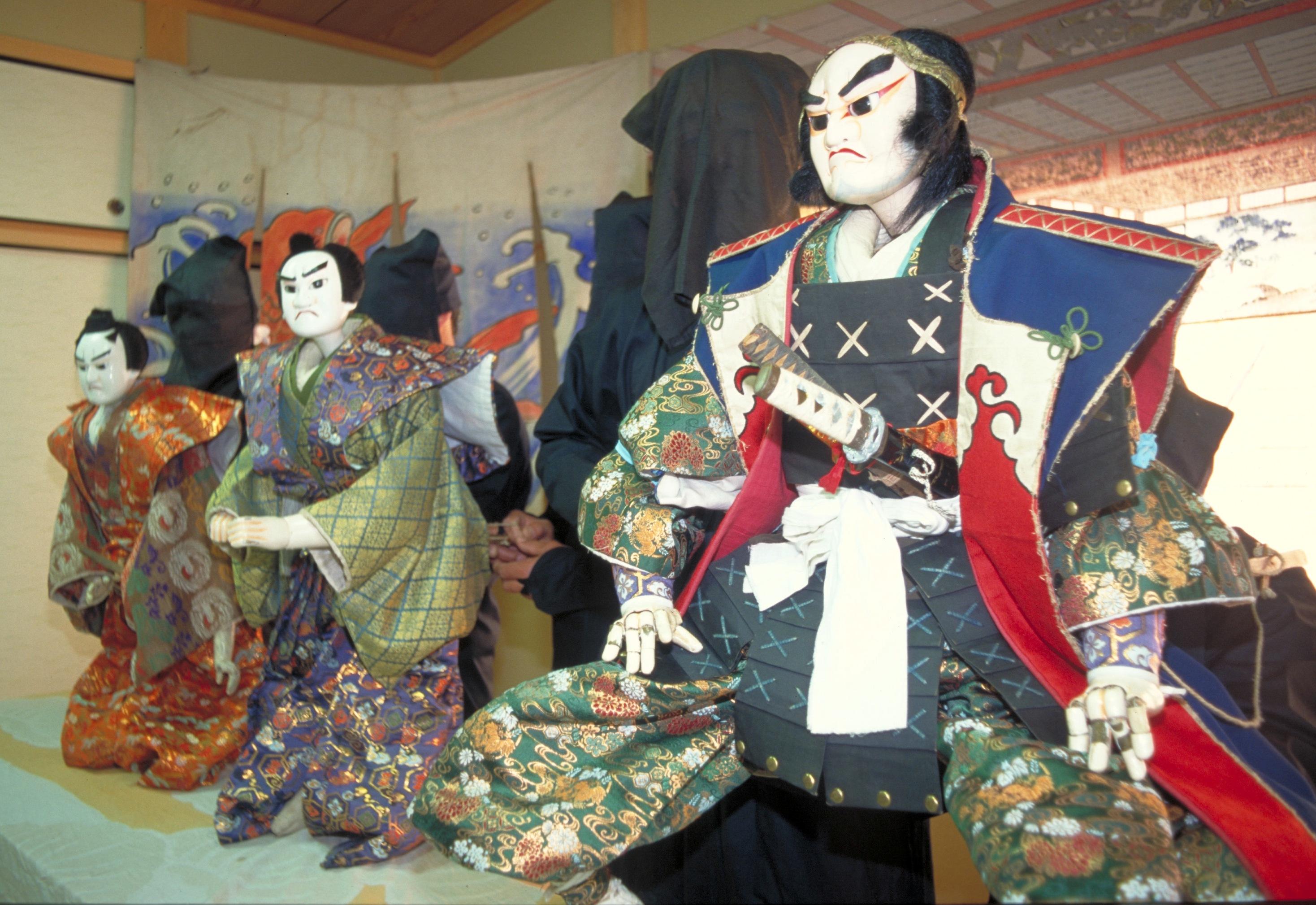 新田の人形浄瑠璃