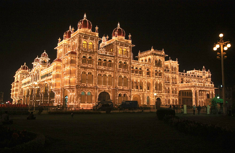 Mysore Palace in its glory