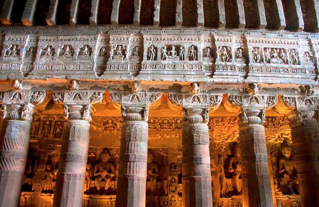 Pillars of Ellora