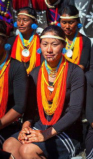 Chang Tribe in her traditional attire