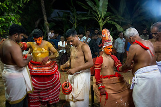 Performers of Theyyam