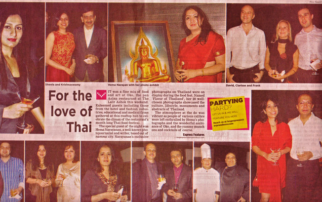 Thai Exhibition for OKO, Lalit Ashok