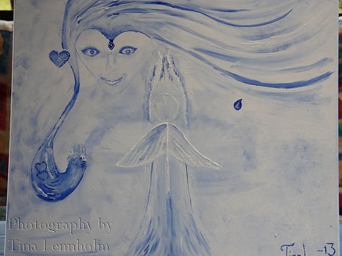 Gudinnan Isis by artist Tina Lennholm