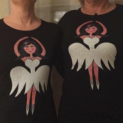 T-shirt Ballerina långärm Vuxen