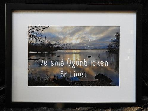 """""""De små ögonblicken är livet"""" av Anna-Lena Lindberg"""