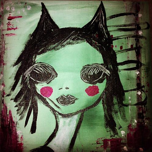 Häxkatten by artist Rebecca Rappner