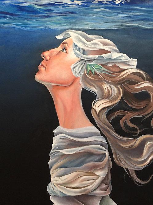 """""""She floats"""" av Lovisa Morin"""