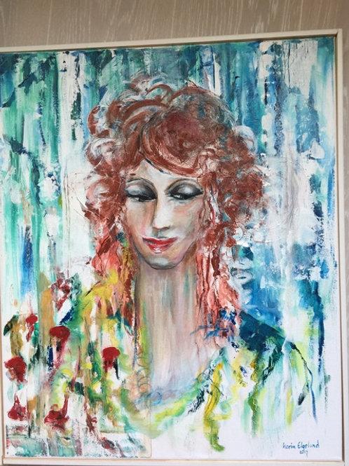 Målning nr1 av Karin Elgelund