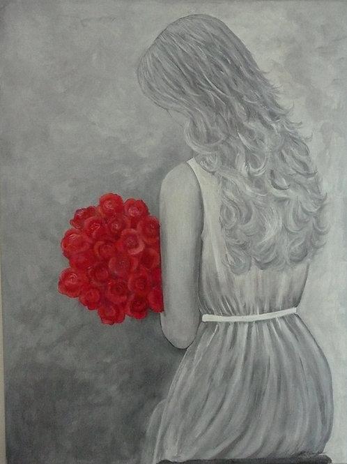 Rosenbuketten by artist Ann-Christine Götesdotter