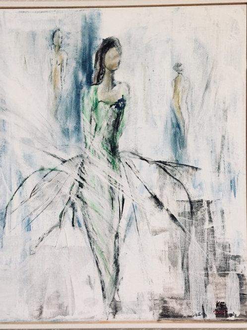 Målning nr 3 av Karin Elgelund.