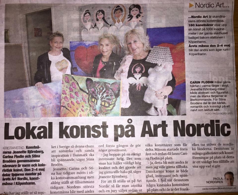 Lokal konst på Art Nordic.