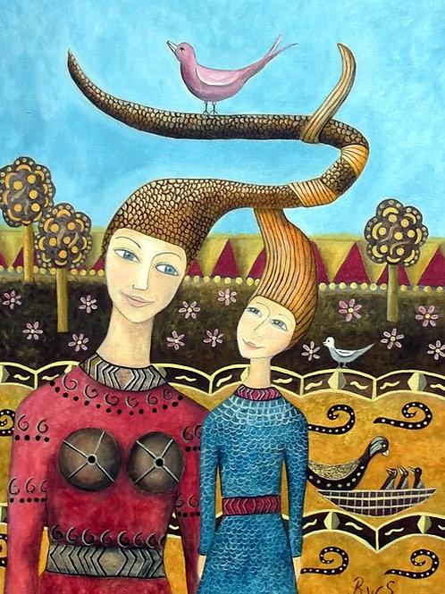 For the love of my children artist  Bitte Wirestrand Sjöström