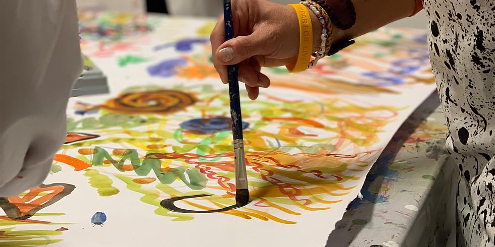 Kreativt Måleri 4 timmar måleri & meditation