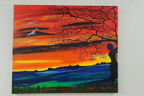 """""""Moder Jord"""" av Malin Hofgren"""