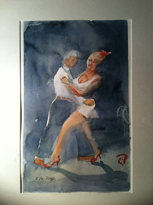 2 for Tango by artist Göran Rucker