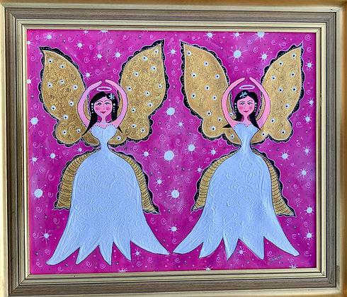 Rosa änglar