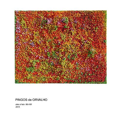 Pingos de Orvalho by artist Claudia Lima