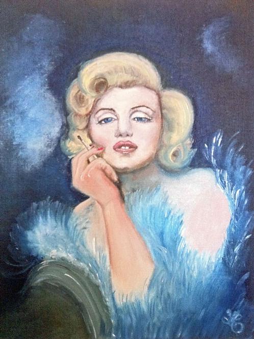 Marilyn Monore by artist Lena Maijanen