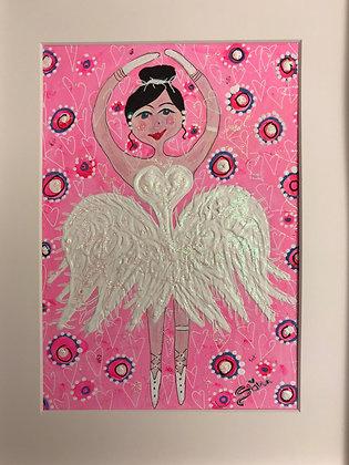 Ballerina i rosa