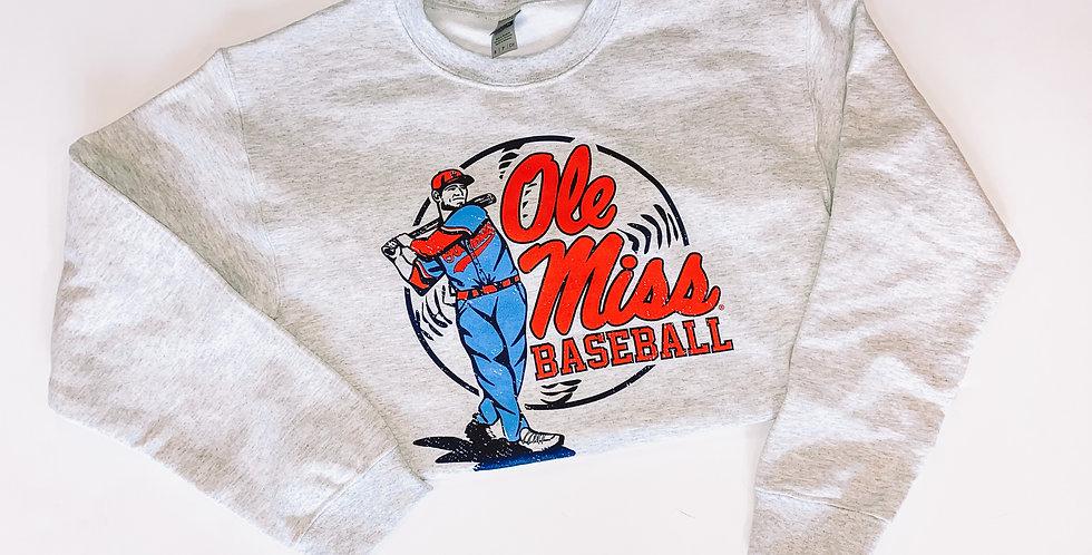 Swing Batter Sweatshirt - OM Baseball