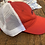 Thumbnail: Red Hat with White Mesh - Navy Ole Miss