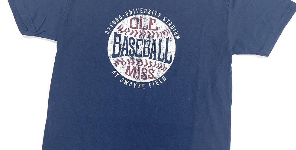OM Stadium Baseball Shirt - Short Sleeve