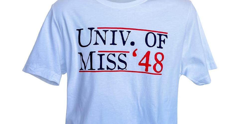 White U of M '48