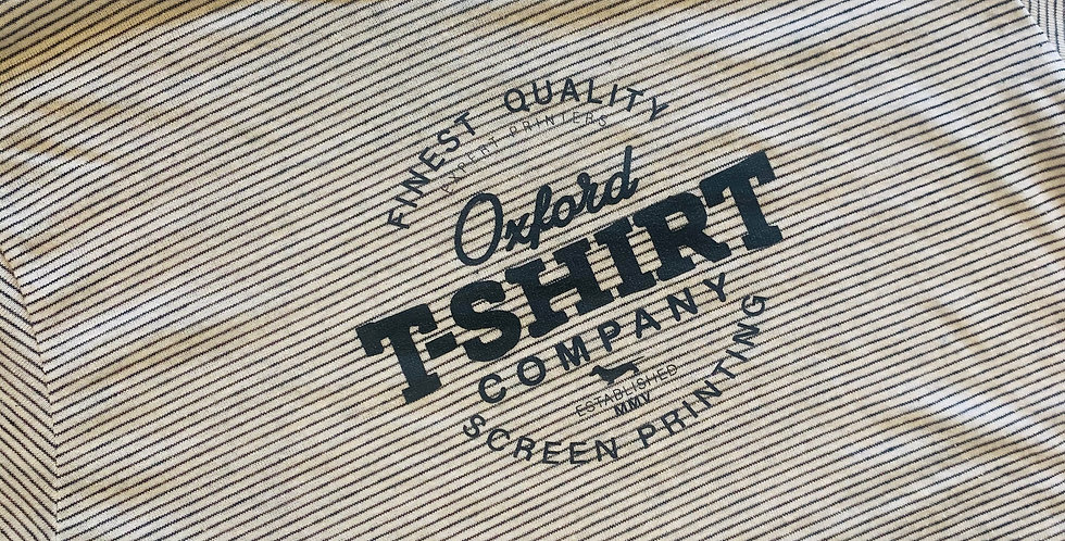 Oxford T-Shirt Co. New Tees