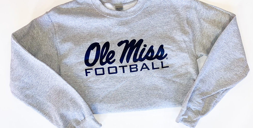 Ole Miss Football Sweatshirt