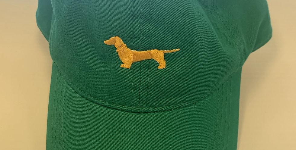 John Deer Green Hat with Yellow Weenie