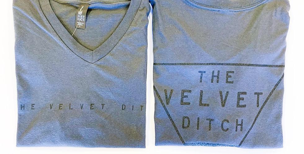 Velvet Ditch V-Neck