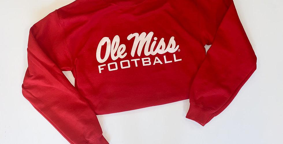 Ole Miss Football Sweatshirt