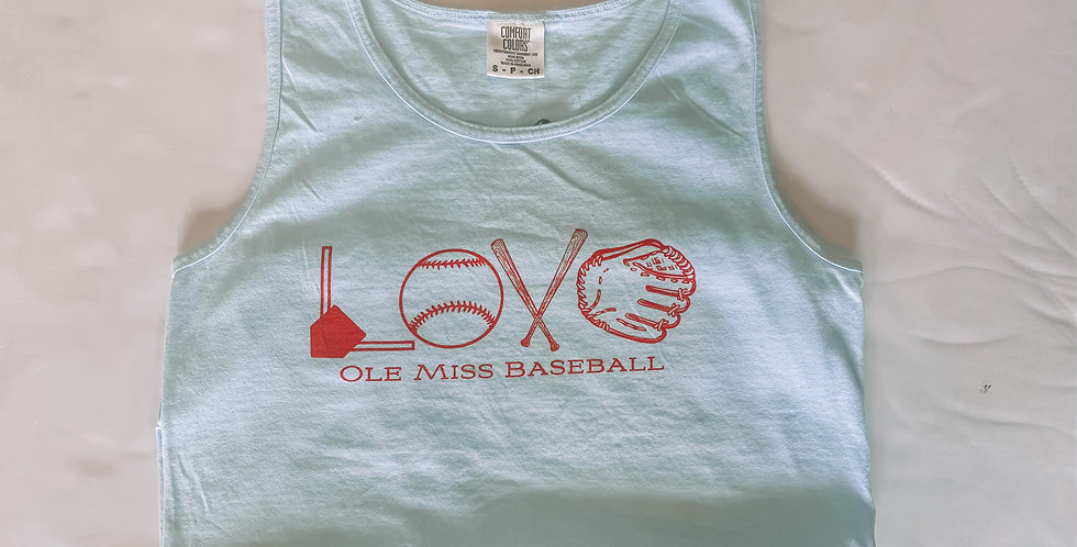 Love Baseball - Tank Top