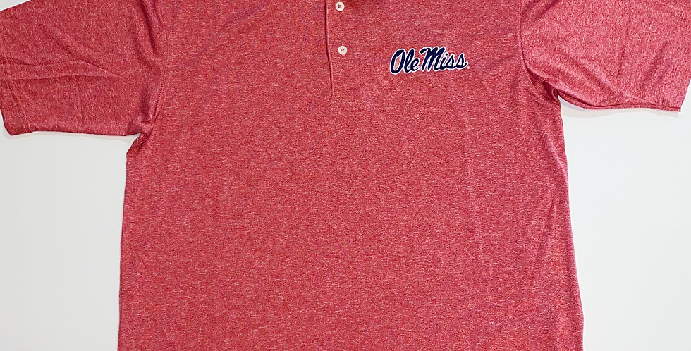 Ole Miss Dry Fit Polo