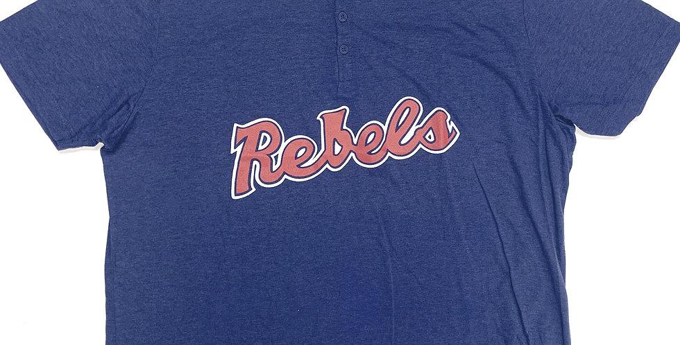 """Henley Vintage """"Rebels"""" Short Sleeve"""