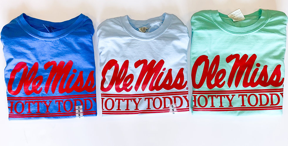 Hotty Toddy Bar ~ Red Ink