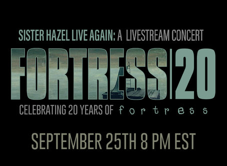 Sister Hazel Celebrates 20th Anniversary of Album Fortress with Livestream Concert