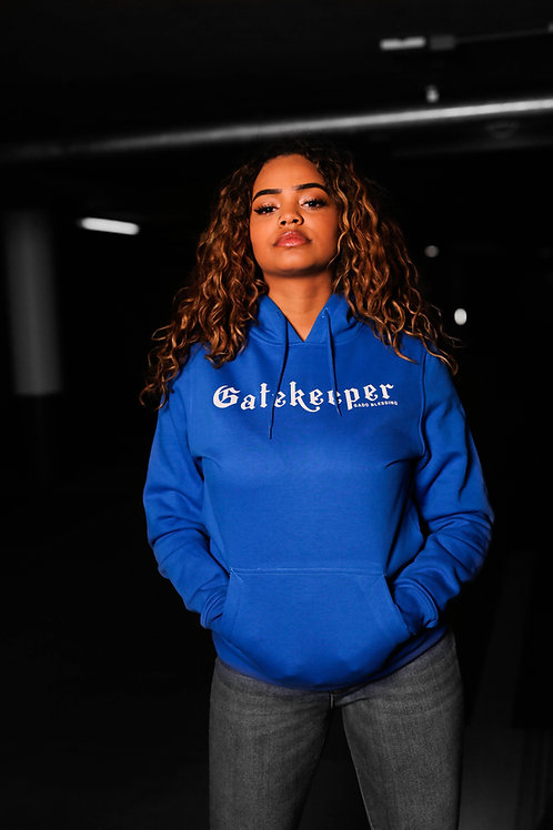 The Gate Keeper Hoodie Blue