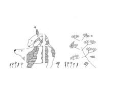 TSUTAYA高松サンシャイン通り店 窓ガラスデザイン(原画)