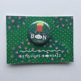 BONSAIZ公式グッズ缶バッジ