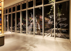 TSUTAYA高松サンシャイン通り店 窓ガラスデザイン