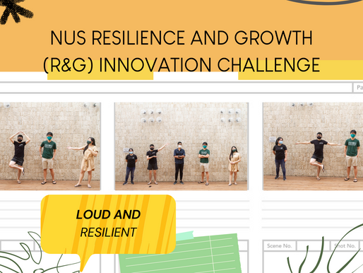 Learning to be Resilient while Growing with NUS's Innovation Challenge