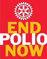 End Polio Now logo graphic