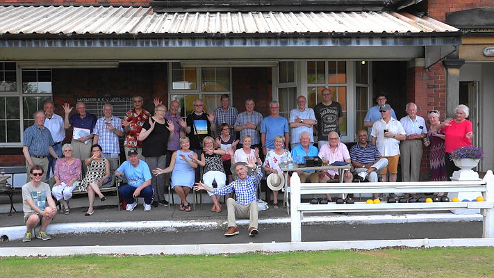 Image of members at the Bowls Evening in 2019