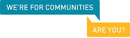 Communities logo graphic
