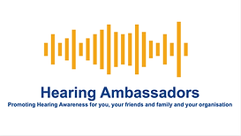 Image of the Hearing Ambassadors Logo